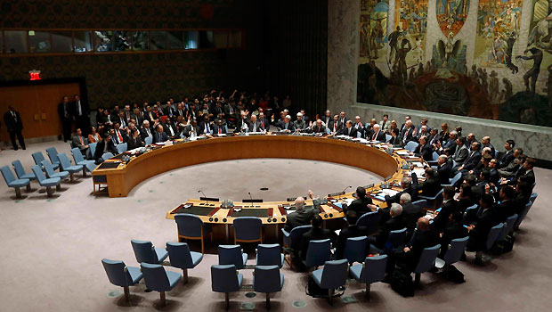 UN Security Council demands elimination of Syria chemical arms