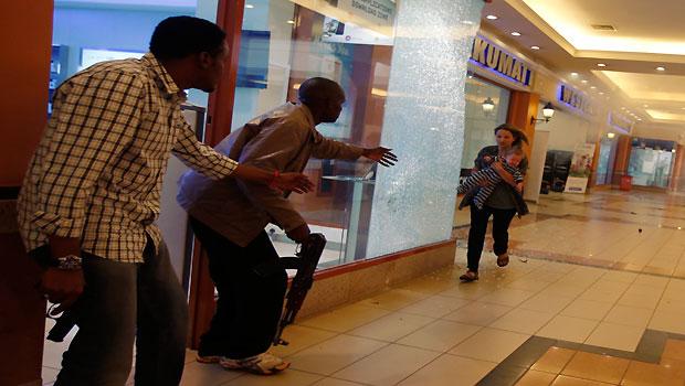 Gunmen storm Nairobi Mall, at least 20 killed