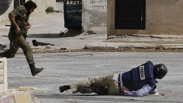 Report: 70 journalists killed on the job in 2013