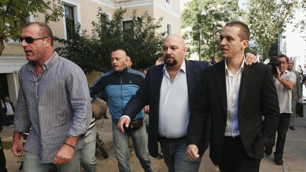 Senior Golden Dawn lawmakers freed pending trial in Greece