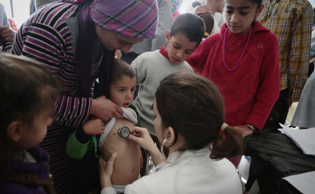 Syria: Suspected polio outbreak in Deir Ezzor