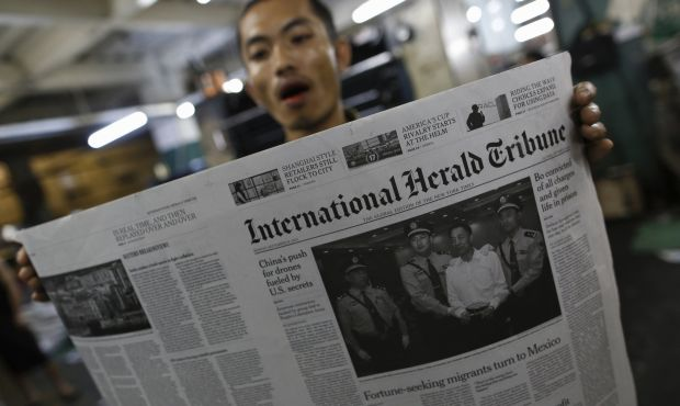 International Herald Tribune: A Tribute
