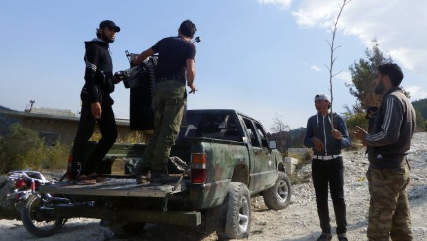 Syrian opposition fighters demand ISIS leave Latakia