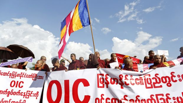 Buddhists in Myanmar protest OIC's upcoming visit