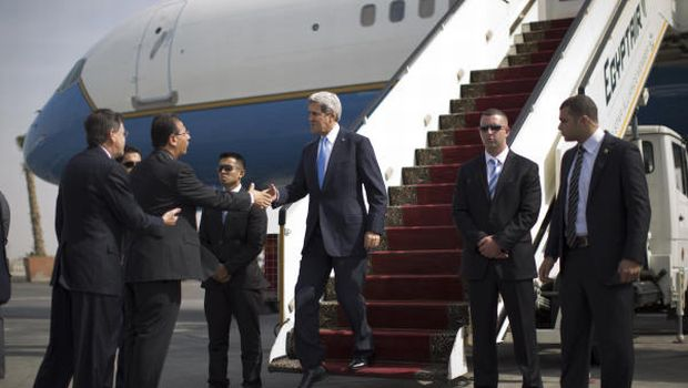 Kerry in Egypt on first visit since Mursi ouster