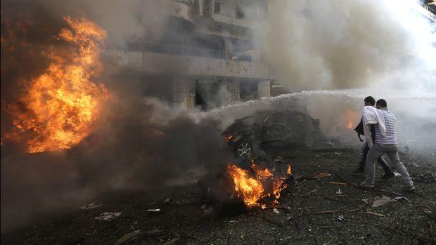 Explosions near Iranian Embassy in Beirut kill 23