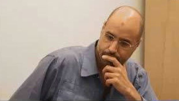 Saif Al-Islam Gaddafi appears in first television interview since capture