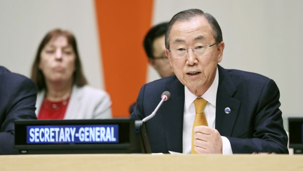 UN chief deplores use of chemical weapons in Syria