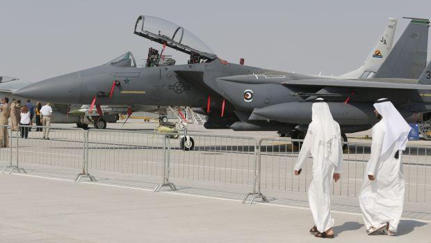 Report: Defense spending in Middle East defies global trends