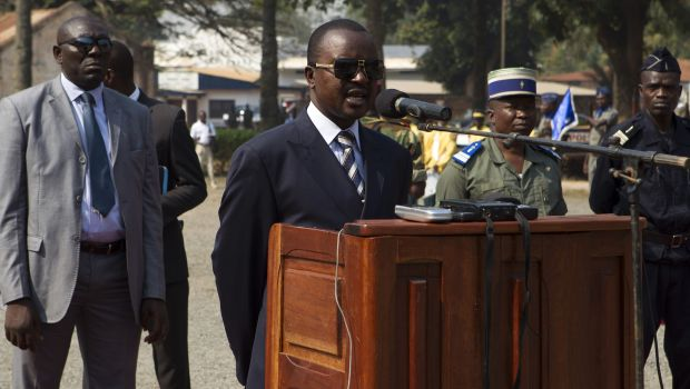 Central African Republic leader says chaos 'over'