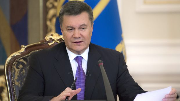 Ukrainian president takes sick leave amid crisis