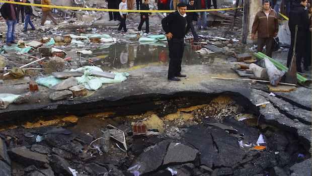 Bombings rock Egyptian capital, killing 5 people