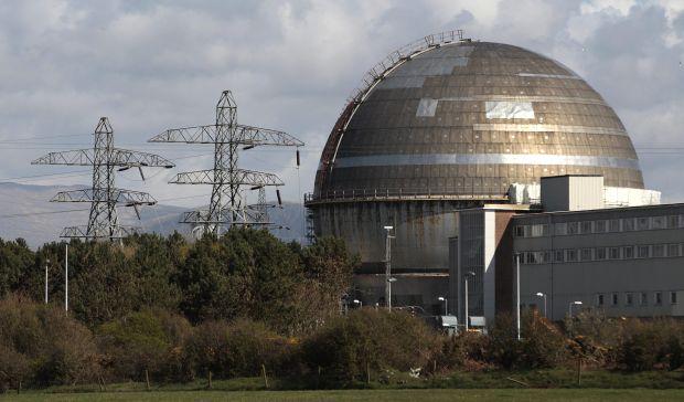 British nuclear plant says radiation alert due to natural radon gas