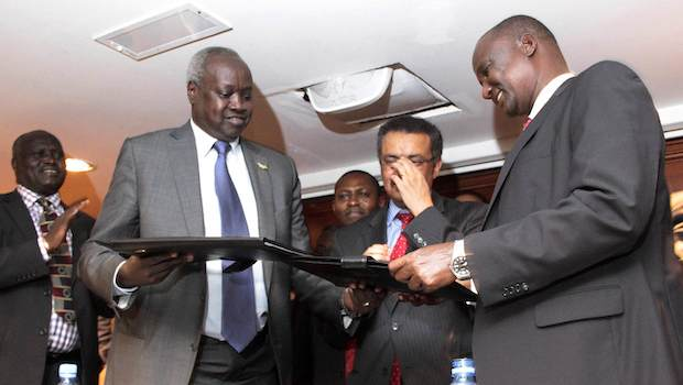 South Sudan: Government signs ceasefire pact with rebels