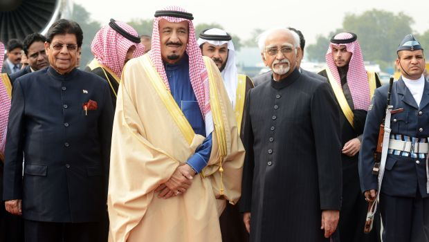 Saudi Crown Prince arrives in India for official visit