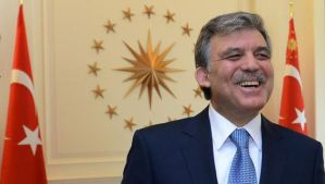 In this February 4, 2014 file photo released by the Turkish Presidency Press Office, Turkish President Abdullah Gül smiles in his office in Ankara, Turkey. (AP Photo/Ayhan Arfat, Turkish Presidency Press Office, File)