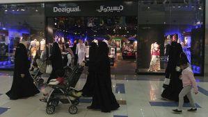Saudi women shop at the Al-Hayatt mall in Riyadh February 15, 2012. (Reuters/Fahad Shadeed)