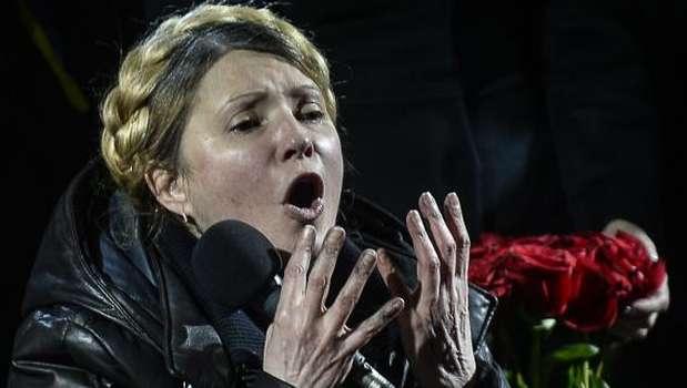 Ukraine: Parliament chief takes presidential power