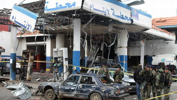 Suicide bomber kills three in Lebanese Hezbollah stronghold
