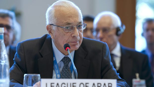 """Nabil Elaraby: """"We must save the Syrian people"""""""