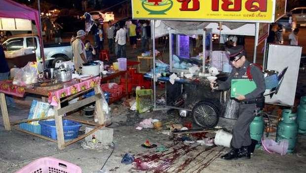 Girl killed, dozens hurt in attack on Thai protest