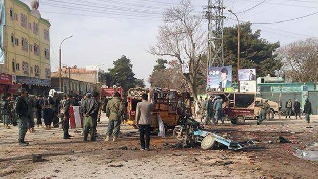 Suicide bomber kills at least 15 in Afghanistan