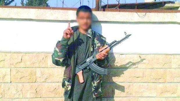 A Libyan Boy, Lost in Syria