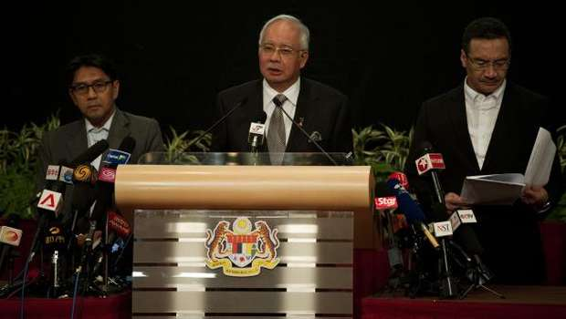 Malaysia says missing plane crashed in Indian Ocean