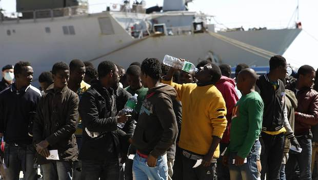 Italy rescues more than 4,000 migrants, operations ongoing