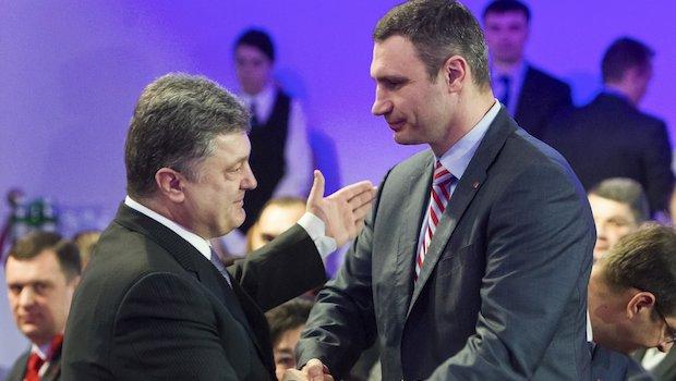 Ukraine's Klitschko ends presidential bid, backs billionaire run
