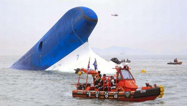 283 missing, 4 dead in South Korea ferry disaster