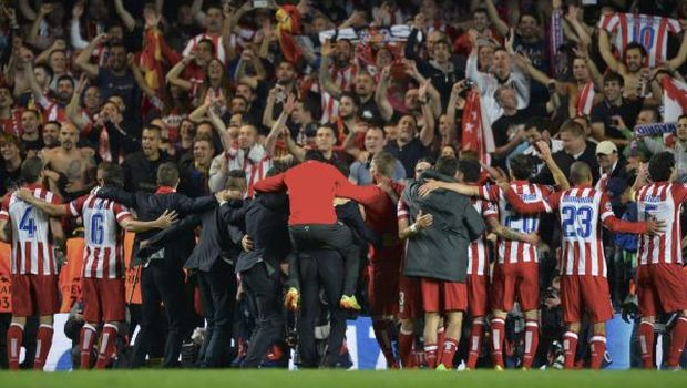 Atlético bathe in glory as Real await in final