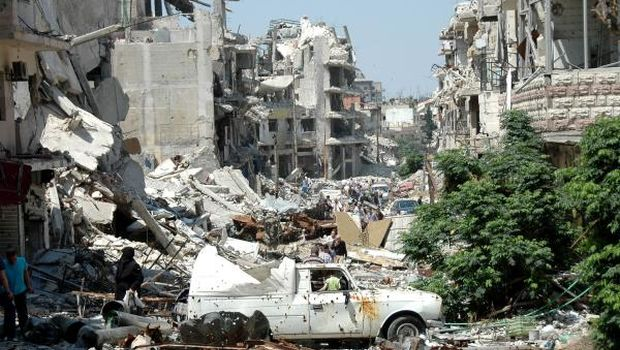 Opinion: Homs, Syria's Martyr
