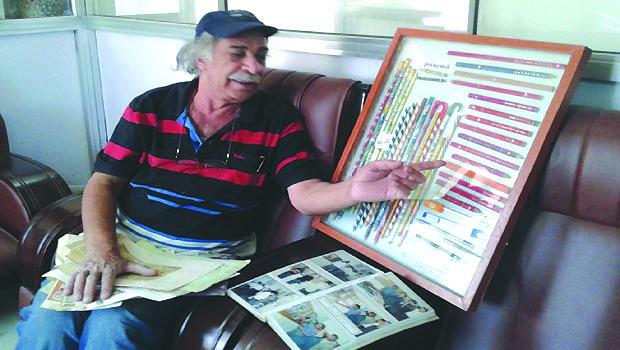 Meet Iraq's Father of Pencils