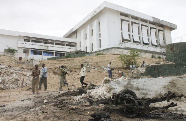 Al Shabaab attacks Somali parliament