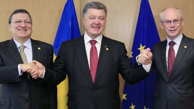 Ukraine, EU sign historic trade and economic pact