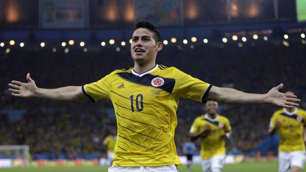 Brazil edge Chile, Rodríguez rocket launches Colombia