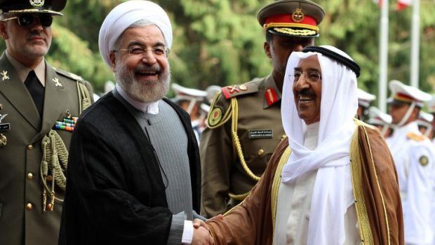 Emir of Kuwait visits Iran for first time since revolution