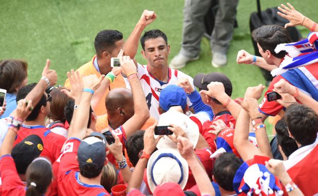 Costa Rica stun Italy, France crush Switzerland