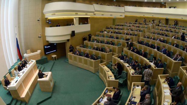 Russian lawmakers revoke right to send troops into Ukraine
