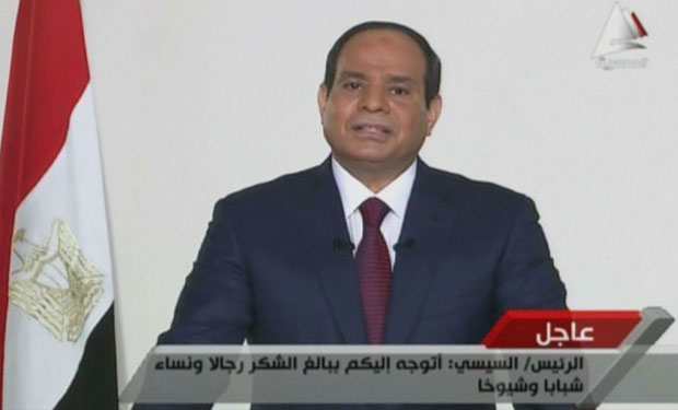 Egypt: President-elect Sisi receives messages of congratulation