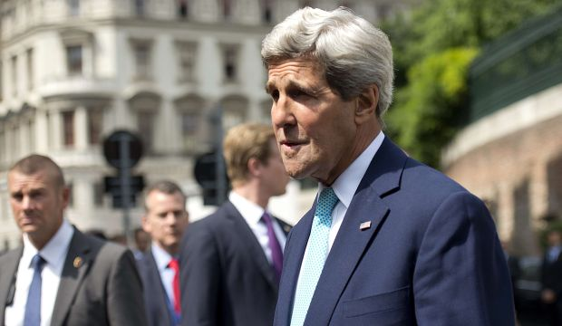 Kerry, EU foreign ministers in Vienna for Iran nuclear talks