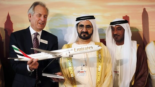 Emirates finalizes $56 bn order for 150 Boeing 777X planes