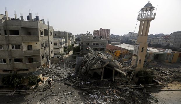 """Gaza death toll reaches 115 as Israel to counter rockets """"with all power"""""""