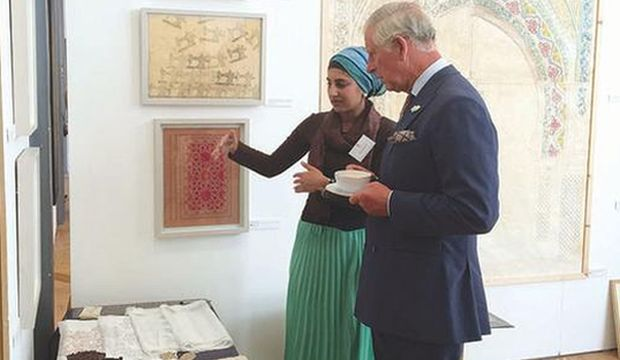 Traditional arts shine at Prince Charles school exhibition