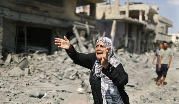 12-hour Gaza humanitarian truce takes hold