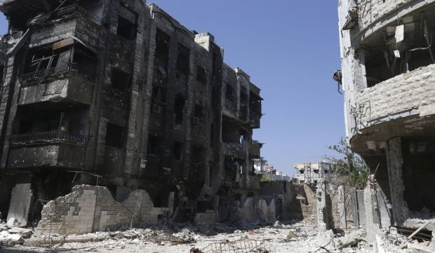 Syrian government forces launch offensive in key Damascus suburb