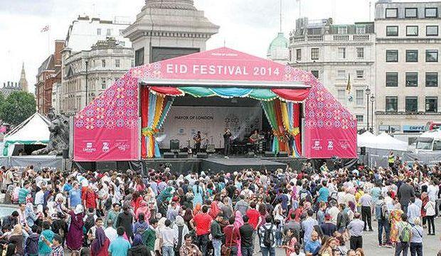 A Celebration of Eid in Trafalgar Square