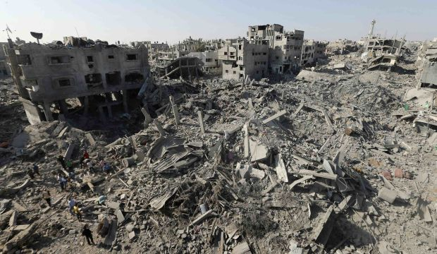 Truce crumbles as 40 killed in Gaza, rockets hit Israel