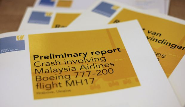 Report: Flight MH17 likely downed by outside impacts